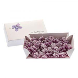 pasteleria madrid artesanal bomboneria bombones caramelos violetas grandes